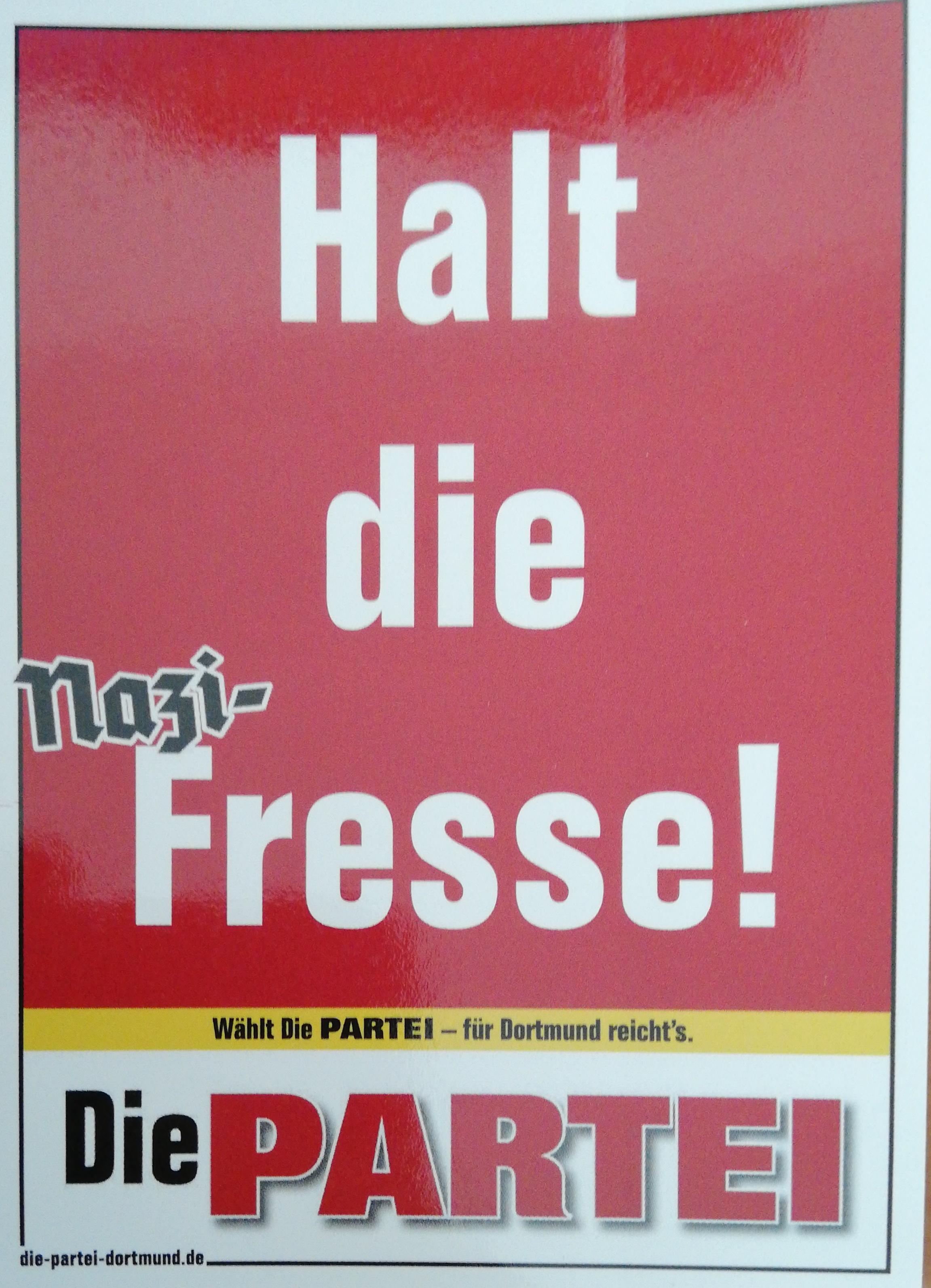 Halt Die Fresse Dortmund