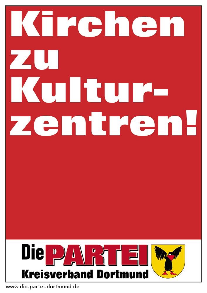 Kirchen zu Kulturzentren!