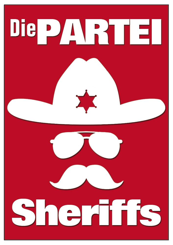 Die PARTEI-Sheriffs