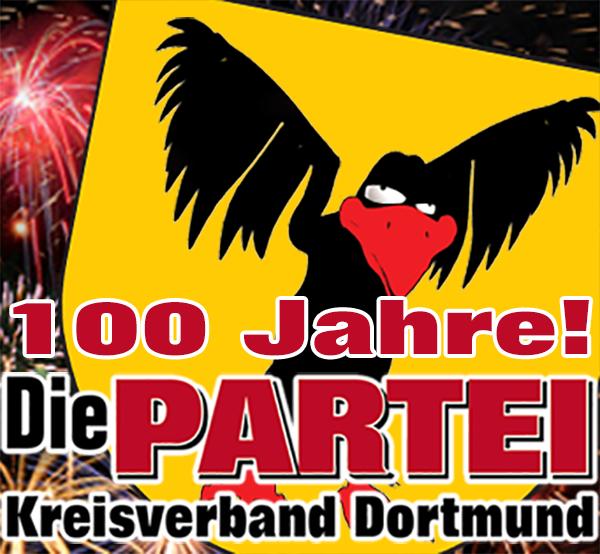 100 Jahre Die PARTEI Kreisverband Dortmund