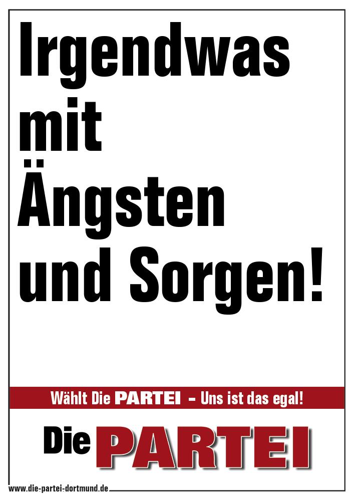 Die Partei Bayern Plakate