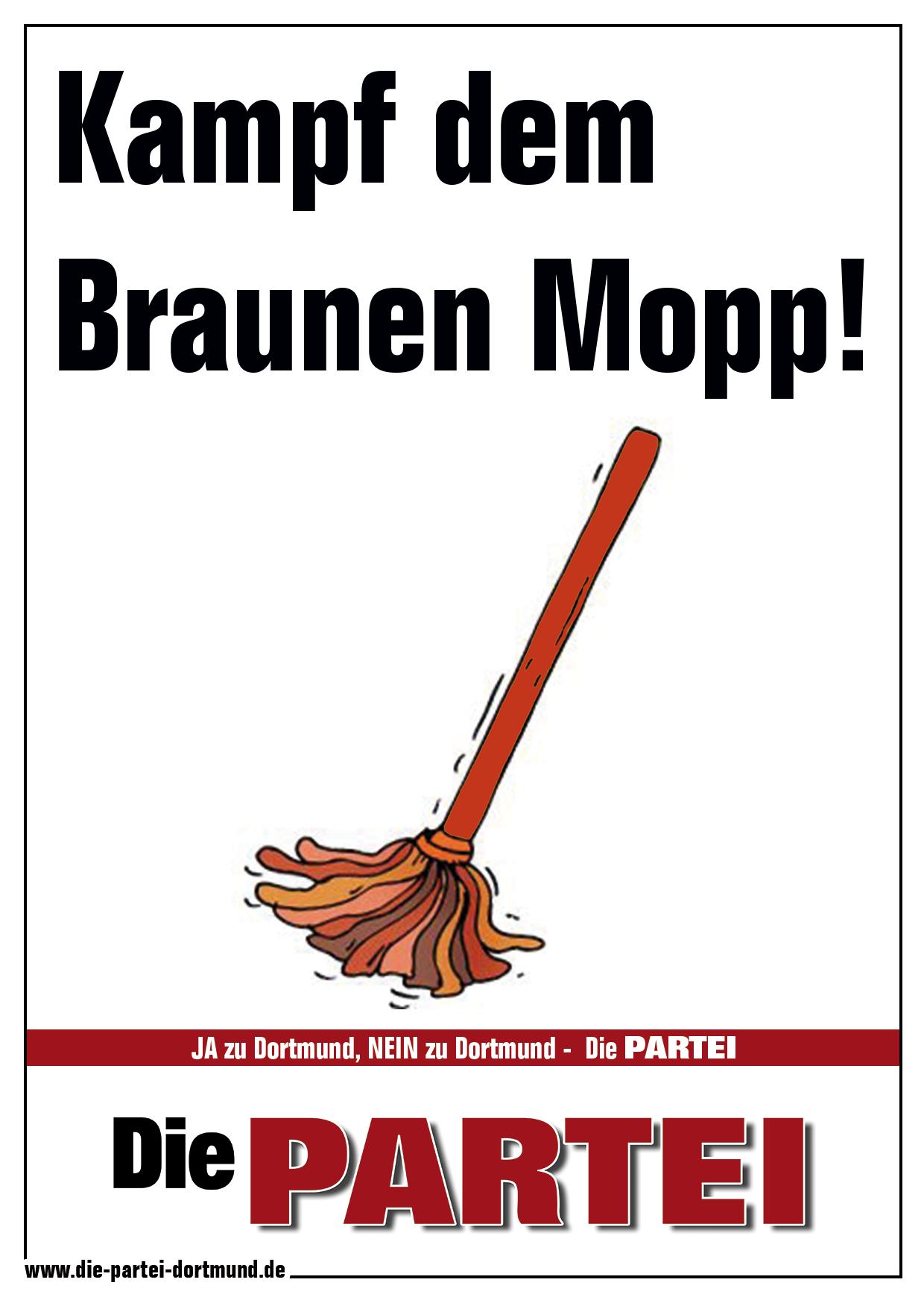 Hoffmann und der braune Mopp
