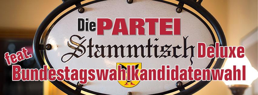 Stammtisch Deluxe feat. Bundestagswahlkandidatenwahl