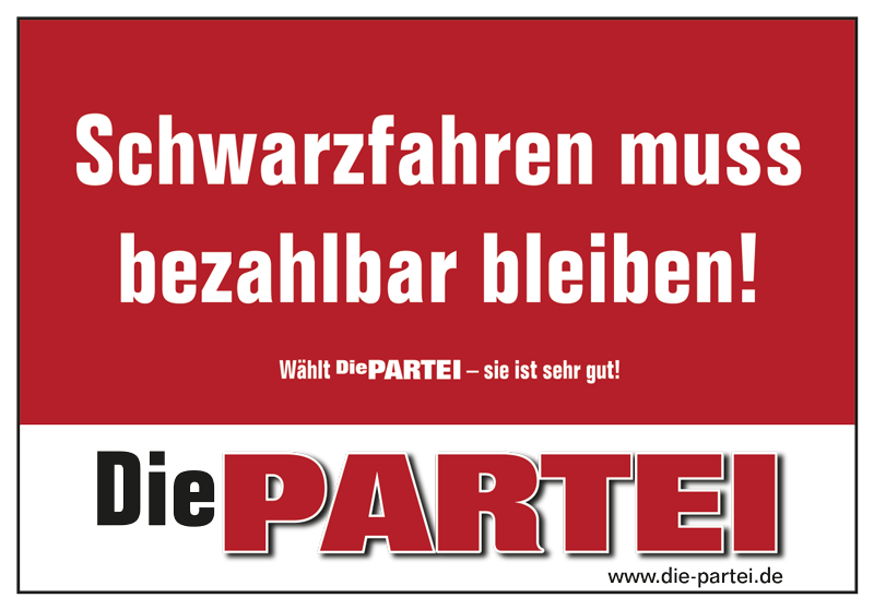 "Mahnwache ""Schwarzfahren muss bezahlbar bleiben!"""