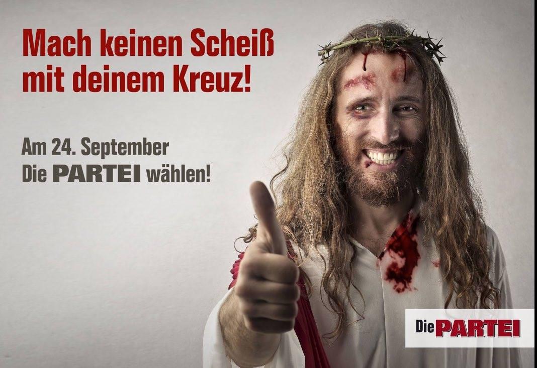 Am 24. September Die PARTEI wählen!