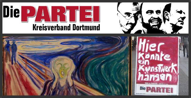 DIE Wahlkampftour: 600 Kunstwerke für Dortmund