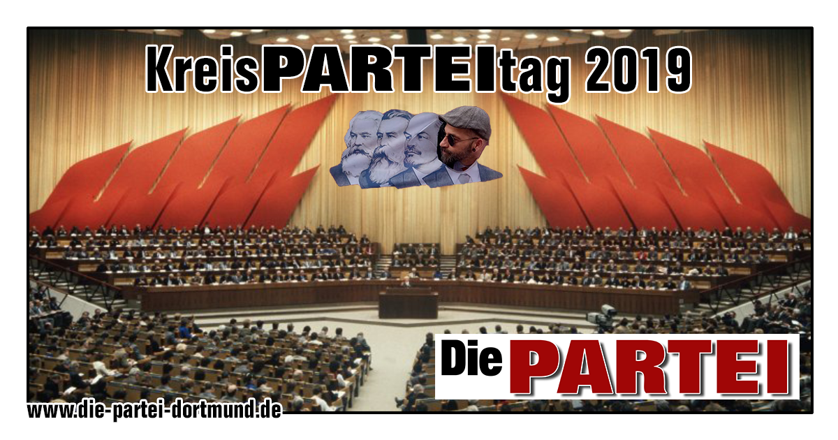 "Einladung zum Kreis<span class=""partei"">PARTEI</span>tag 2019!"