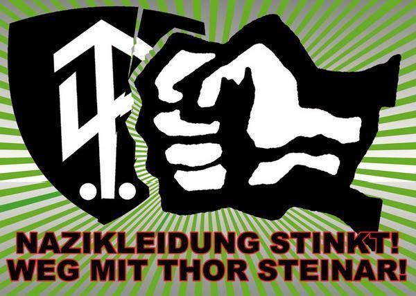 Demo gegen Nazi-Laden