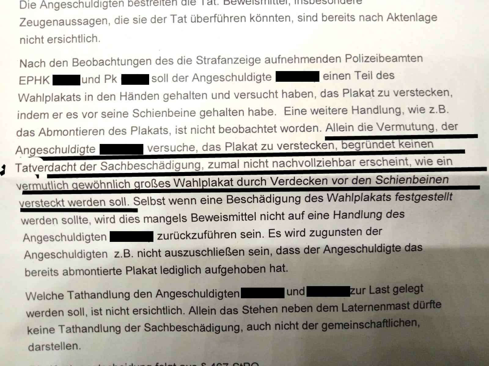 """Amtsgericht Dortmund lehnt Strafanzeige von """"Die Rechte"""" ab"""