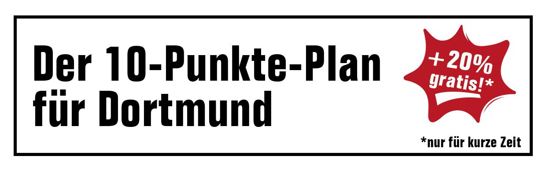 Der 10-Punkte-Plan für Dortmund