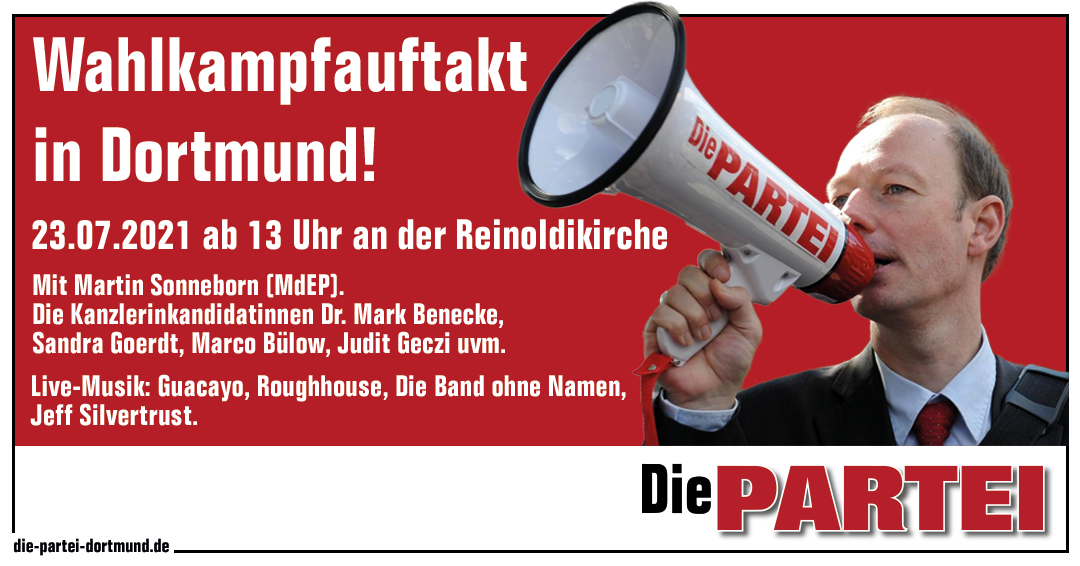 Save the date – Wahlkampfauftakt in Dortmund!